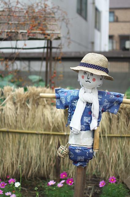 東京路地裏散歩 カカシ 2013年11月4日