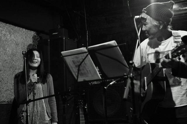 春日善光&石川泰 live at 'aja', Tokyo, 04 Nov 2013. 045