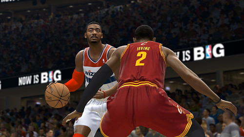 NBALIVE14_Cleve@Wash_Wall
