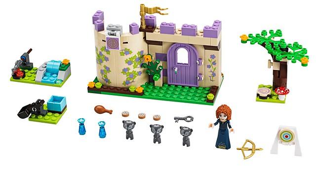 LEGO Disney Princess 41051 - Merida's Highland Games