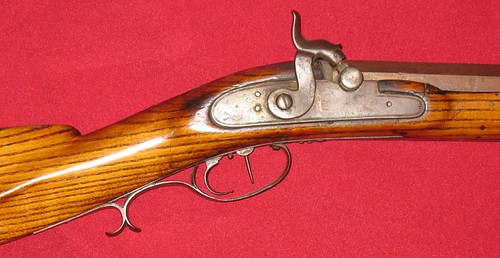 Mills & Thompson Rifle - Made In Jo Daviess County, Illinois - Circa 1850