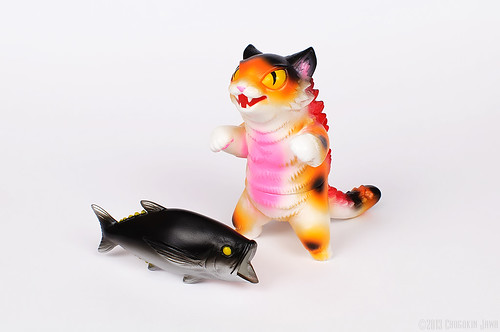 Max Toy Kaiju Negora (Calico version)