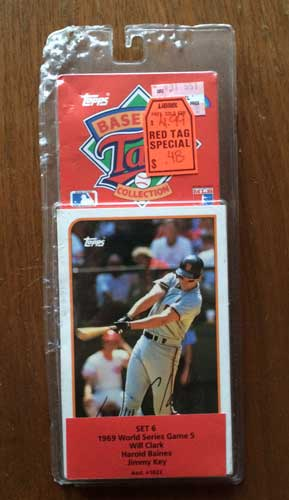1989 Topps Talking Baseball Pack 2