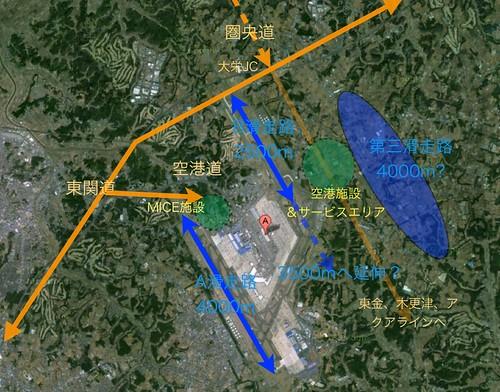 成田空港 第三滑走路