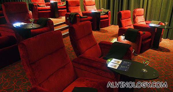 New Farm Cinema Gold Room