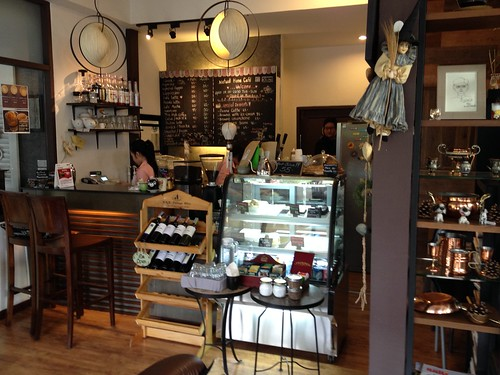 The european-style cafe