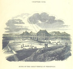"""British Library digitised image from page 567 of """"Travels in Assyria, Media, and Persia, etc"""""""
