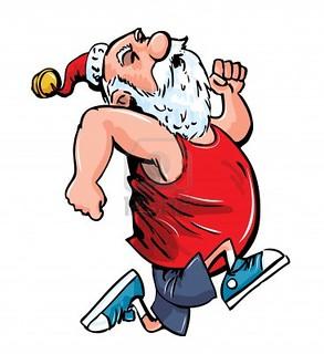running-Santa-cartoon