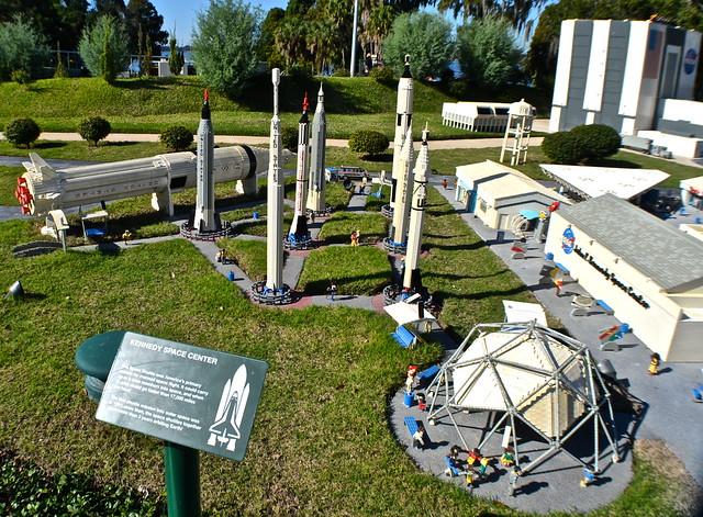 Legoland, Florida - Miniland - Cape Canaveral - NASA