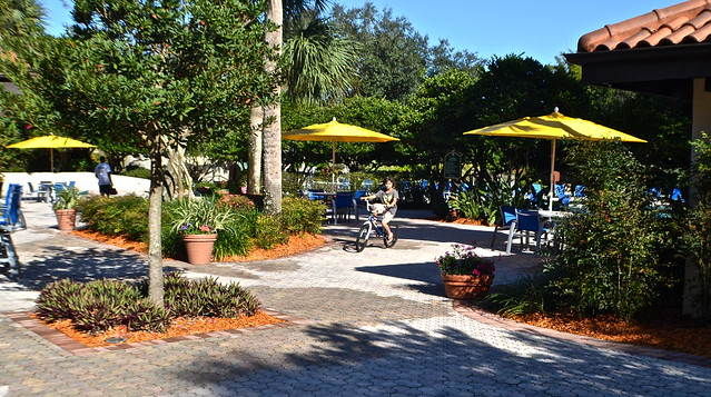 Cypress Gardens Villas and Golf Resort, Orlando Florida - Biking around