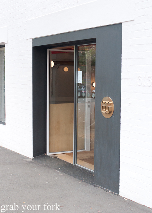 Entrance to Three Williams Cafe, Redfern