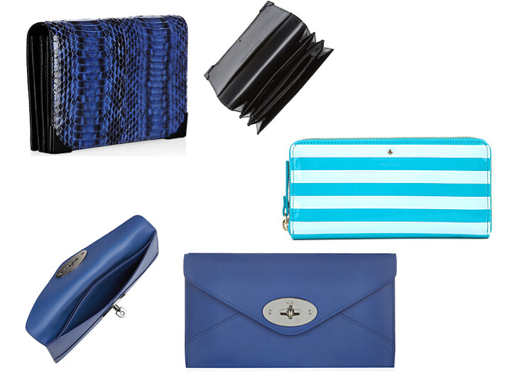 Alexander Wang, Kate Spade, Mulberry Wallets