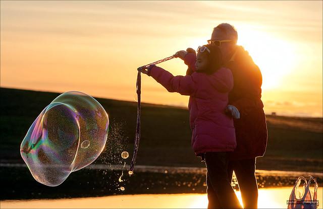 Sunsets & Bubbles