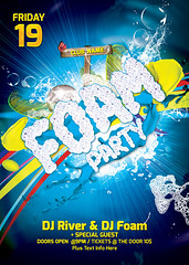Main File Foam Party Flayer