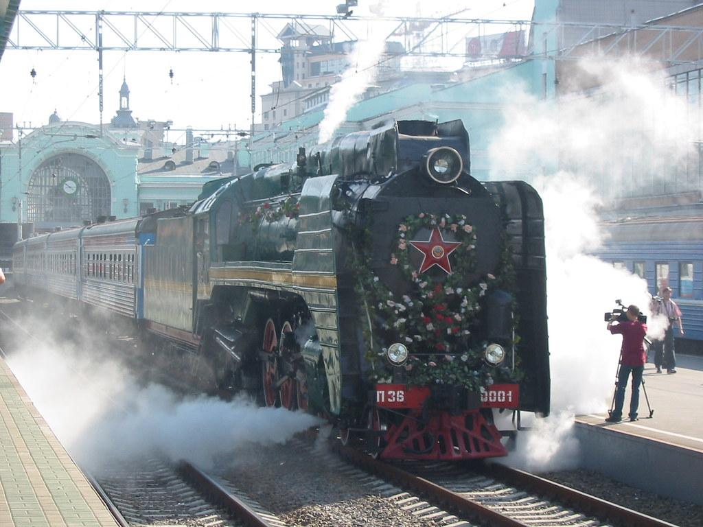 RZD P36-0001 steam locomotive _20050807_065