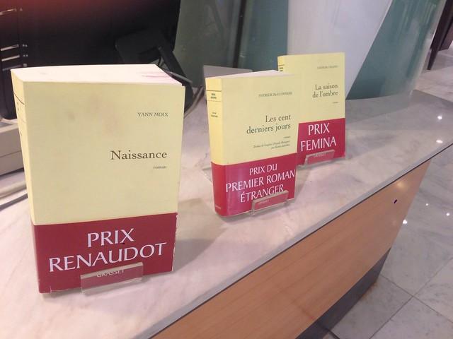 Photo de groupe - Prix littéraires Grasset 2013