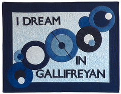 I Dream in Gallifreyan Pillow Sham