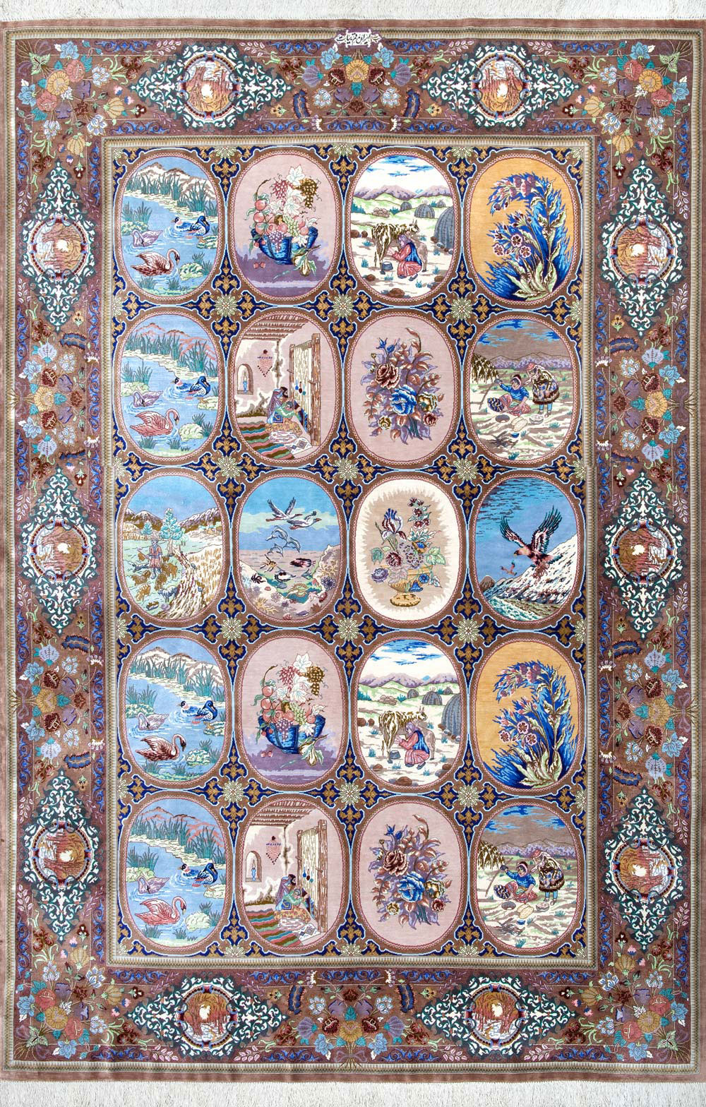 Persian Area Rug Master Piece