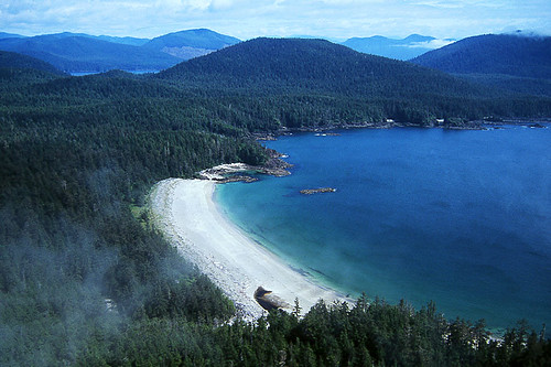 Grant Bay in Quatsino Sound, North Vancouver Island, British Columbia, Canada