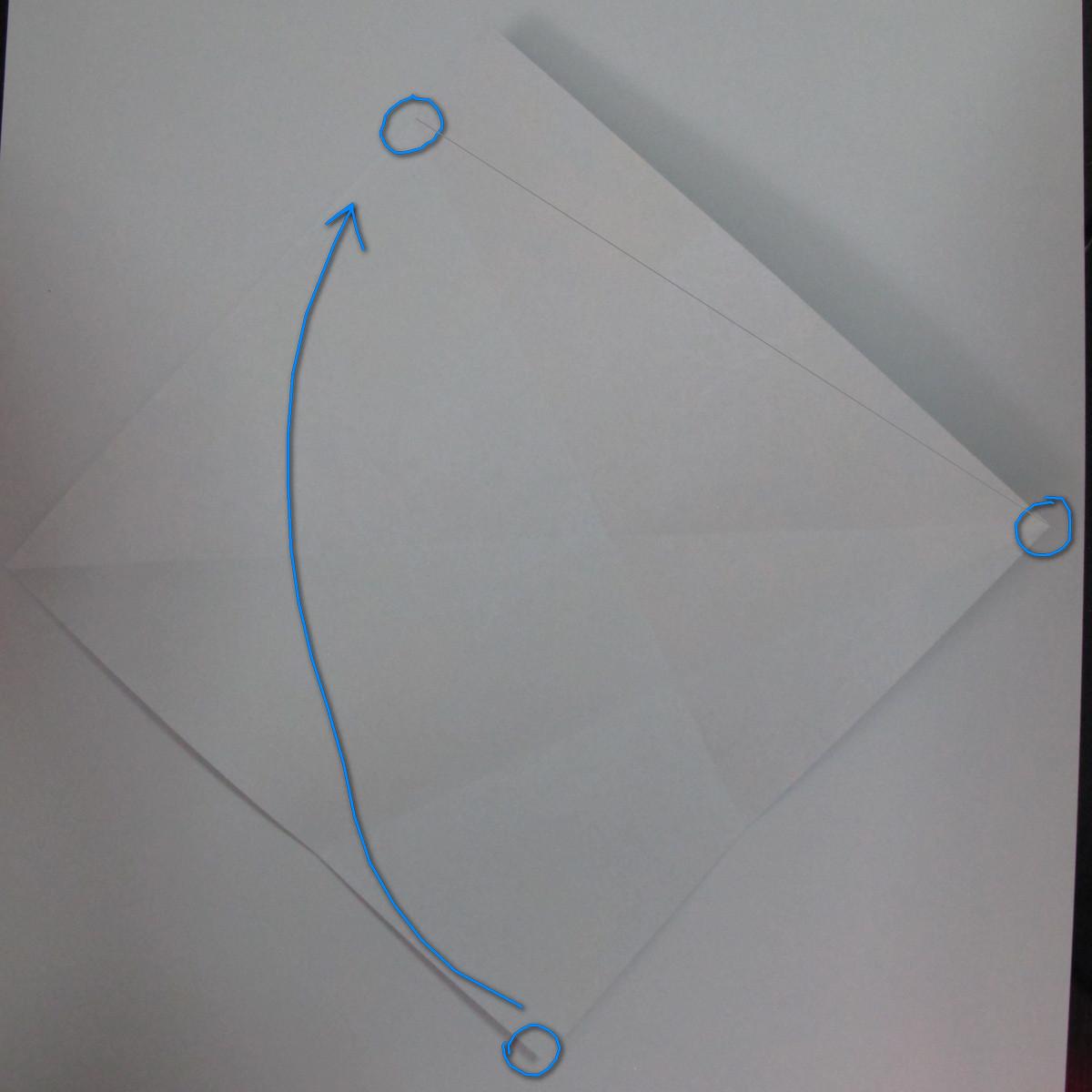 วิธีการพับกระดาษเป็นรูปม้า (Origami Horse) 007