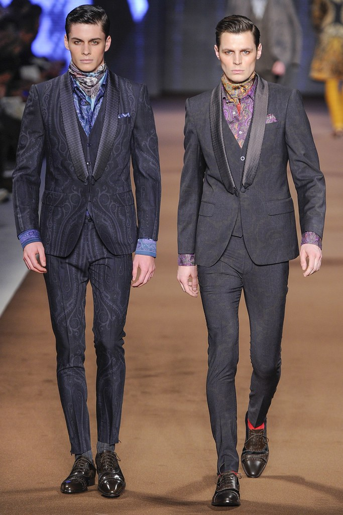 FW14 Milan Etro026_Joe Collier, Adrian Wlodarski(VOGUE)
