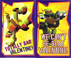 PAPER MAGIC GROUP :: Nickelodeon TEENAGE MUTANT NINJA TURTLES ; VALENTINE'S MAIL BOX xii (( 2014 ))