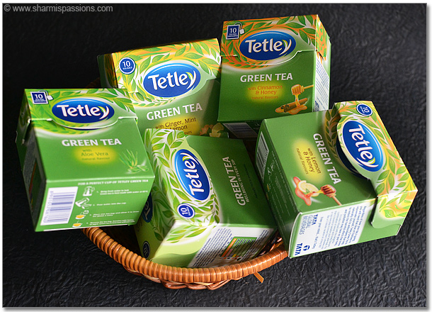Tetley Green Tea Pack