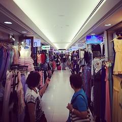 Hundreds of clothing stores... #fashionmall #bangkok #thailand