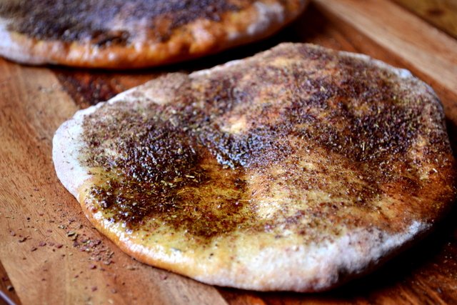 Za'atar Flatbread Recipe (1)