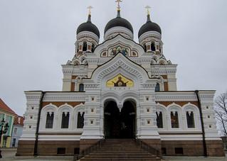 Alexander Nevsky Cathedral, Tallinn_Estonia