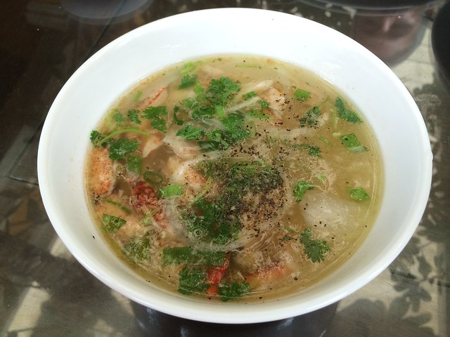 Cassava vermicelli soup with crab meat - Nha Hang Ngon