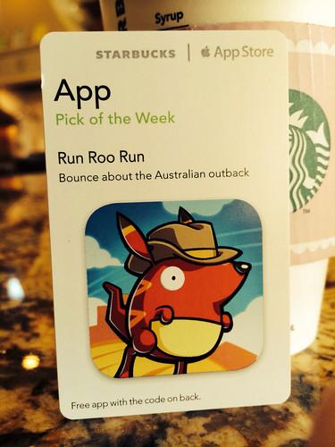 Starbucks iTunes Pick of the Week - Run Roo Run