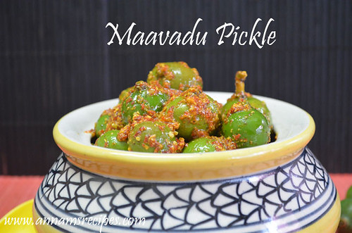 Vadu Mango Pickle / Maavadu Pickle