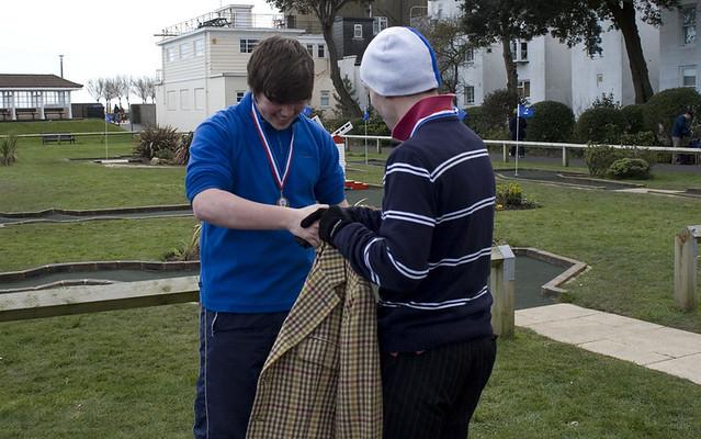 2013 Masters jacket handover