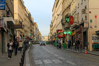 Rue du Faubourg du Temple - Paris (France)