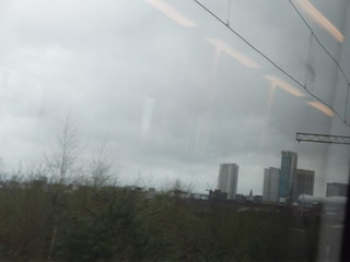 Proof House Junction - Beetham Tower and Selfridges - city skyline