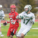2014-04-05 -- Men's lacrosse vs Olivet College