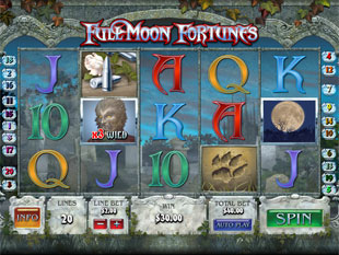 Full Moon Fortunes Bonus Game