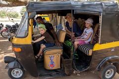 Tuktukiem zwiedzamy Hampi