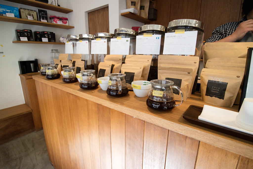 SOLA COFFEE ROASTERS 浦和のスペシャルティコーヒー豆専門店