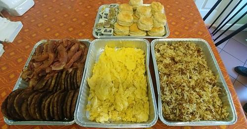 Breakfast from Belle's Diner