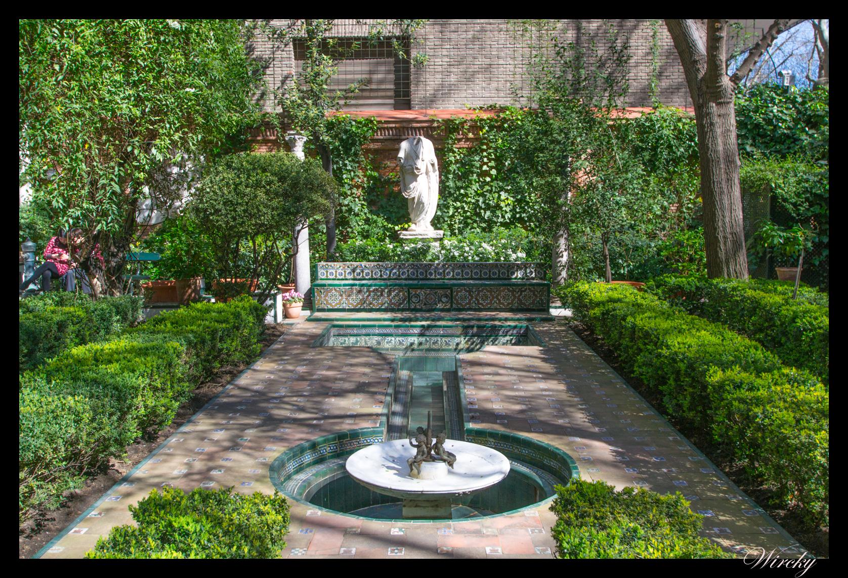 Jardines andaluces en el museo sorolla de madrid los for Casa jardin madrid