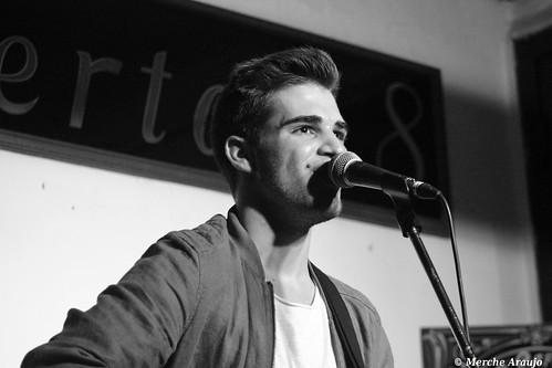 PABLO MORENO en el  Café Libertad 8 (Madrid, 16/12/2016)
