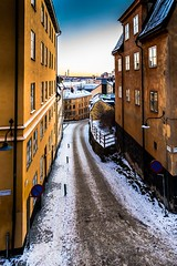 Stockholm, Södermalm in the Winter