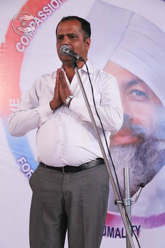 SNM Branch Sanyojak Mahesh Pinjani from Amravati