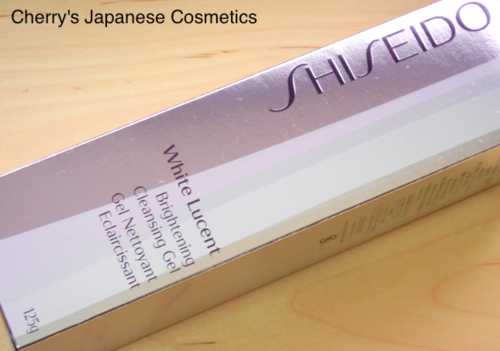 Shiseido White Lucent Cleansing Gel