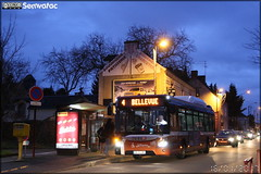 Iveco Bus Urbanway 12 - Setram (Société d'Économie Mixte des TRansports en commun de l'Agglomération Mancelle) n°202