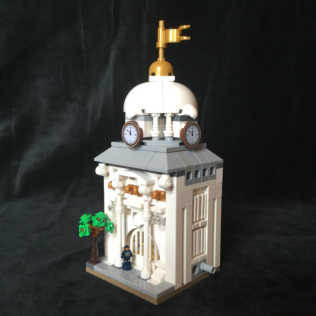 KTown City Hall Mini (custom built Lego model)
