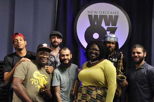 Derrick Freeman and Pearl Ricks with Danny Abel Band. Photo by Leona Strassberg Steiner