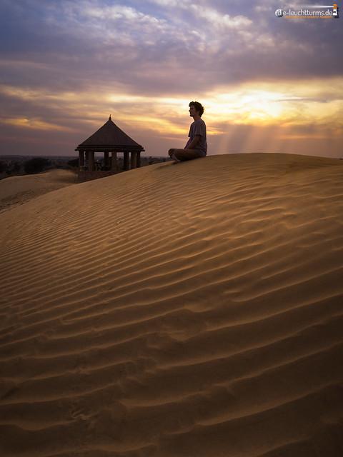 The lonely guru